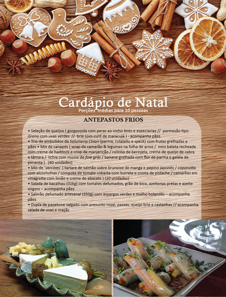 Cardápio de Natal - 2014
