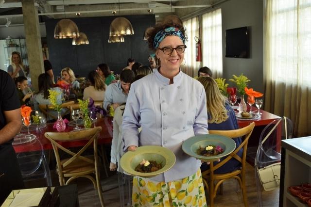 Bouquet Garni - Almoço na mesa com a Agnes
